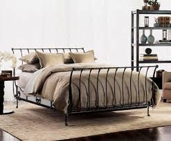 Bedding Wrought Iron Bed Frame Frames Queen In King Designs 13 ...