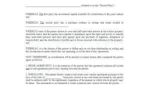 Venture Capital Investment Agreement Template Templates
