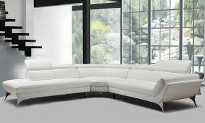 your bookmark products 3 656 00 divani casa graphite modern white leather sectional sofa