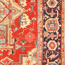 persian antique heriz serapi rug for