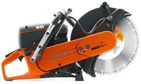 husqvarna concrete saw. husqvarna k760 power cutter w/extras *special concrete saw