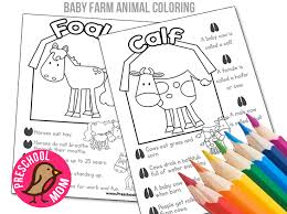 Small Picture Baby Farm Animal Color Learn