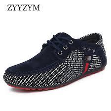 <b>ZYYZYM Men Shoes</b> Spring Summer Men Casual Shoes Lace Up ...