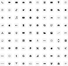 ios 14 minimal icons smukkeberg