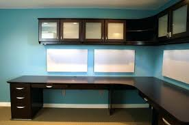wall mounted home office. Home Office Desk Ideas Decor Custom Cabinets Corner Wall Mounted