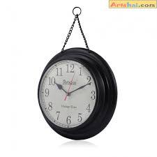 artshai antique look wall clock made