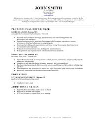 Classic Resume Examples Expert Preferred Resume Templates Resume