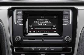 2016 volkswagen gsr radio display sat radio