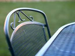 are you cleaning your outdoor furniture