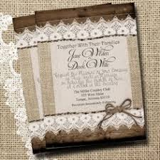 Burlap And Lace Wedding Invitations Burlap And Lace Wedding Invitations Massvn Com