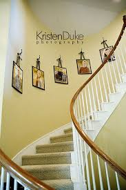 stairway decorating curved walls