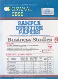book oswaal cbse sample question papers for class business book oswaal cbse sample question papers for class 12 business studies