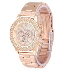online get cheap watch men diamond aliexpress com alibaba group brand watches women men diamond three eyes metal band analog quartz fashion wrist watch watches clock