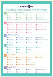 Baby Check List