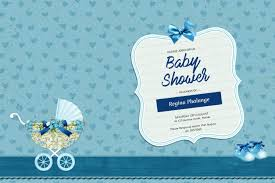 shower invitation templates boy baby shower invitation template postermywall