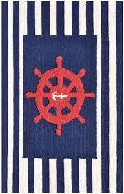 rug market kids nautical 71167 navy blueredwhite area rug kids nautical rug