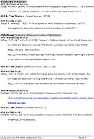 Citing Sources Apa Style Pdf