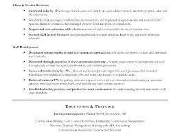 Construction Resume Example Amitdhull Co
