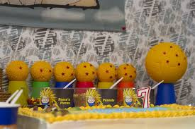 Dragon Ball Z Decorations Dragon Ball Z Birthday Love Every Detail 16