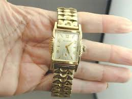 17 best images about vintage watches repair shop fab 1930 s art deco 10k rolled gold bulova men s watch runs