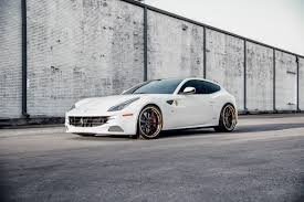 Learn how it drives and what features set the 2020 ferrari ff apart from its rivals. This Bianco Avus Ferrari Ff With Adv 1 S Might Be The Perfect Four Seater Adv 1 Wheels