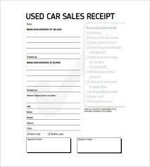 receipt template for car sale vehicle sales receipt template free under fontanacountryinn com