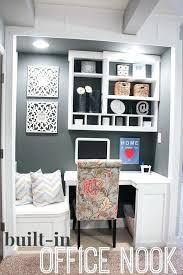 walk in closet office. Walk In Closet Office Nook Custom Built For Basement Convert To