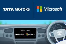 Tata Motors And Microsoft Connected Car Experience Autobics