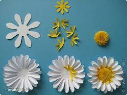 Daisy Paper Flower Master Class Bumagoplastika Quilling Flowers Daisies