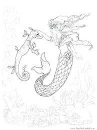 printable mermaid coloring pages. Interesting Coloring Mermaid Coloring Pages Printable Little   For Printable Mermaid Coloring Pages R