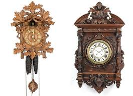 james d julia february 8 right oversize french relief carved clock walnut 19th century sold via great gatsby s auction