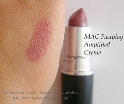 Mac Fast Play Mac Amplified Creme Fast Play Review Swatch Fotd