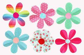 Paper Flower Craft Ideas Folding Paper Flowers 6 Petals Kids Crafts Fun Craft