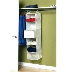 closet hanging organizer double instructions hang rod c closet hanging organizer