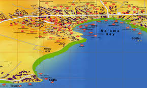 naama bay hotel map  sharm el sheikh • mappery