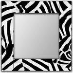 Купить <b>Настенное зеркало Дом Корлеоне</b> Зебра 55x55 см ...