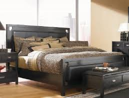 leather king bed.  King Mercer Leather Queen Panel Bed In King