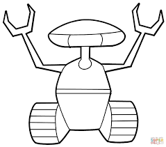 robot coloring book refrence robots coloring pages