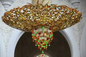 chandelier sheikh zayed grand mosque