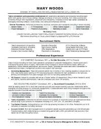 Recruiter Resume Template Fascinating Job Recruiter Resume Resume Web