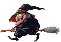 """Résultat de recherche d'images pour """"sorcière sur son balai petit gift gratuit"""""""