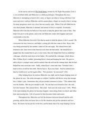 personal narrative essay in my sophomore year lakeland union  2 pages sixth sense essay