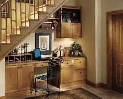 Classical Under Stairs Home Office