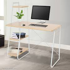 office computer desk. Voilamart Office Computer Desk 4 Tier Storage Shelf Bookcase Bookshelf Student Study Table
