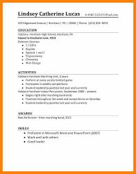 6 Cv Template Student First Job Gcsemaths Revision