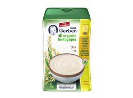 Gerber Stage 1 Baby Cereal Gentle First Foods
