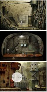 Kooky Amanita Design Machinarium A Cute Robot On A Quest Concept Art Indie