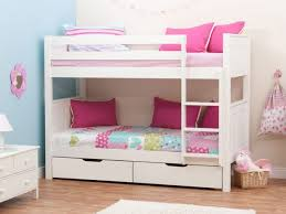 bedrooms for girls with bunk beds. Fine Bunk Great Stompa Classic Kids White Girls Bunk Bed Beds Dma Homes 90101 Inside  Luxuriate Good Upon Throughout Bedrooms For With E