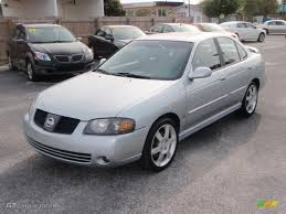 2004 Molten Silver Nissan Sentra SE-R Spec V #20358871 | GTCarLot ...