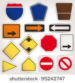 blank road signs test.  Test And Blank Road Signs Test S